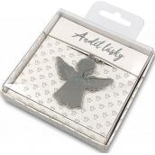Nekupto Darčeková kľúčenka pre šťastie Anjel lásky 4 cm