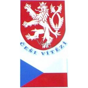 Arch Tetovacie obtlačky na tvár i telo Slovenská vlajka 4 motív