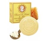 Jeanne en Provence Beurre de Karité & Miel Bambucké máslo a med tuhé toaletní mýdlo s delikátní vůní 100 g