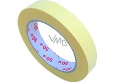 Perdix Zakrývací páska do 60 stupňů 25 mm x 50 m krepová