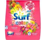 Surf Color Tropical Lily & Ylang Ylang prášok s aviváži na pranie farebnej bielizne 4 dávky 280 g