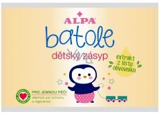 Alpa Batole zásyp s extraktem z listu olivovníku pro děti, náhradní sáček 100 g
