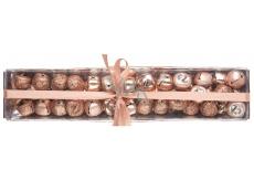 Rolničky medené v krabičke 1,5 cm, 39 kusov