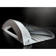 Štít tvárový ochranný jednorazový, PVC / PUR, pruženka
