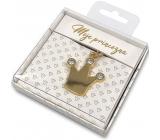 Nekupto Darčeková kľúčenka pre šťastie Moje princezná 4 cm