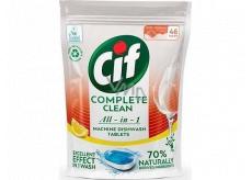 Cif All in 1 Lemon tablety do umývačky riadu 46 kusov