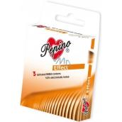 Pepino Effect zdrsnené krúžky kondóm z prírodného latexu 3 kusy