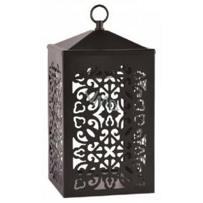 Candle Warmers nahrievacie lampáš na sviečky čierna 30 x 15 cm