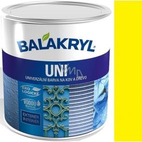 Balakryl Uni Mat 0620 Žlutý univerzální barva na kov a dřevo 700 g