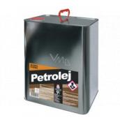 Severochema Petrolej určený na svietenie v petrolejových lampách a čistenie 9 l