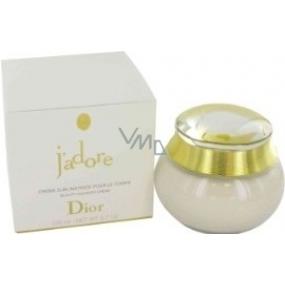 Christian Dior Jadore tělový krém pro ženy 200 ml