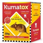 Kumatox G granulovaná nástraha k hubení myší domácích 100 g