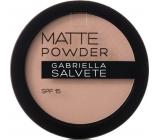 Gabriella Salvete Matte Powder SPF15 pudr 01 Ivory 8 g