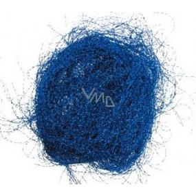 Anjelské vlasy krepaté modré 1 kus