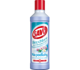 Savo Jarná sviežosť bez chlóru tekutý čistiaci a dezinfekciou prípravok na podlahy 1 l