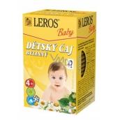 Leros Baby Bylinný čaj pre deti 20 x 1,8 g