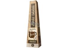 Bohemia Gifts & Cosmetics Horká extra jemná výběrová čokoláda Pro dědečka s vysokým podílem kakaového másla 30 g