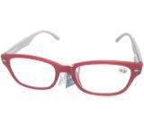 Berkeley Čtecí dioptrické brýle +4,0 cihlové, šedé stranice 1 kus MC2150