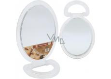 Elina zrcadlo normální + zvětšovací 23 x 15 cm + stojánek