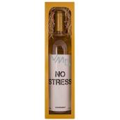 Bohemia Gifts & Cosmetics Chardonnay No stress biele darčekové víno 750 ml