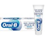 Oral-B Gum & Enamel Repair Original zubná pasta univerzálna, vlastnosti: ochrana ďasien, ochrana skloviny a ochrana pred zubným kazom 75 ml