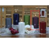 Lima Zirkón sviečka fialová valec 80 x 150 mm 1 kus