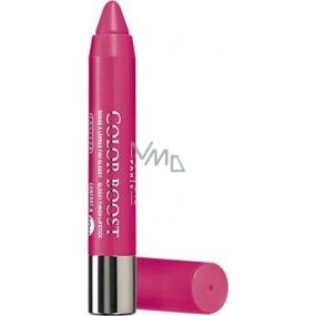 Bourjois Color Boost Glossy Finish Lipstick hydratační rtěnka 09 Pinking Of It 2,75 g