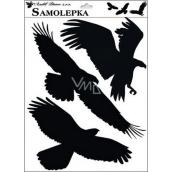 Samolepka siluety vtáky 42 x 30 cm č.2