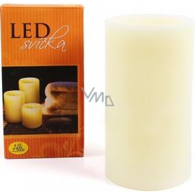 Albi Led svíčka klasik velká žlutá