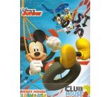 Ditipo Disney Dárková papírová taška pro děti L Mickey, Club House 26,4 x 12 x 32,4 cm