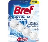 Bref Power Aktiv 4 Formula Pure White Wc blok 50 g