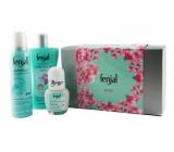 Fenjal Rose sprchový gel 200 ml + sensitive sprej 150 ml + roll-on 50 ml kosmetická sada