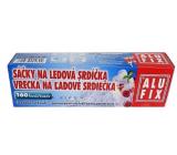 Alufix Vrecká na ľadové srdiečka samozatváracie 160 srdiečok 10 vrecúšok