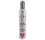 Vitale Exclusively Professional farbiace penové tužidlo s vitamínom E Pink - Ružový 200 ml