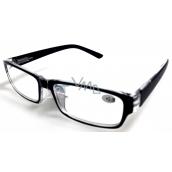 Berkeley Čítacie dioptrické okuliare +2,5 plast čierne 1 kus MC2062