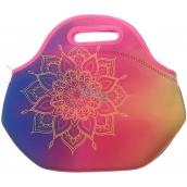 Albi Original Termo Svačinová taška Mandala uchová potraviny dlhšie teplej / studenej 30 x 27 x 18 cm