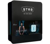 Str8 Live True toaletná voda pre mužov 50 ml + dezodorant sprej pre mužov 150 ml, darčeková sada