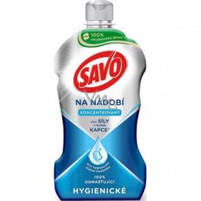 Savo Hygienický prostriedok na ručné umývanie riadu 450 ml