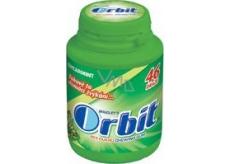 Wrigleys Orbit Spearmint žuvačky bez cukru dražé 46 kusov piksli