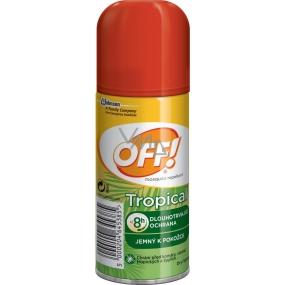 Off! Tropical repelentní přípravek rychleschnoucí sprej 100 ml