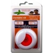 Soft Dent Hladká voskovaná dentální nit 50 m