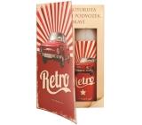 Bohemia Gifts Kniha Retro Škoda sprchový gél 250 ml + olejový kúpeľ 200 ml (s príjemnou pánskou vôňou), kozmetická sada