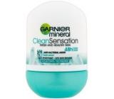 Garnier Mineral Clean Sensation 48h kuličkový antiperspirant deodorant roll-on pro ženy 50 ml