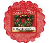 Yankee Candle Red Apple Wreath - Veniec z červených jabĺčok vonný vosk do aromalampy 22 g