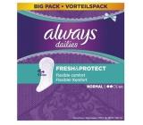 Always Dailies Fresh & Protect Normal s jemnou vôňou slipové intímne vložky 60 kusov