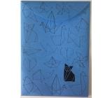 Albi Puzdro na dokumenty modrej Origami A6 - 105 x 148 mm