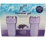 Akolade Air Freshener Lavender solid gél osviežovač vzduchu 2 x 150 g