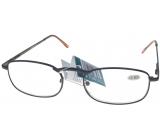 Berkeley Čítacie dioptrické okuliare +2,5 hnedé kov 1 kus MC2007