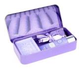Esprit Provence Levanduľový vonný vrecúško 5 g + krém na ruky 30 ml + toaletné mydlo 60 g, kozmetická sada