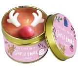 Bomb Cosmetics Vianočný sob - You Light Up My Christmas vonná prírodné, ručne vyrobená sviečka v plechovej dóze horí až 35 hodín